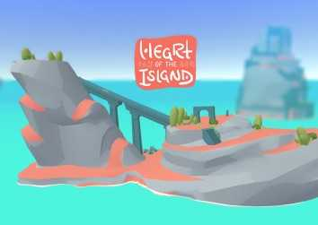 Screenshot from LSU GGJ 19 game Heart of the Island